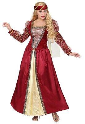 Mittelalterliche Prinzessin Damenkostüm Deluxe NEU (Erwachsenen Mittelalterliche Prinzessin Kostüme)