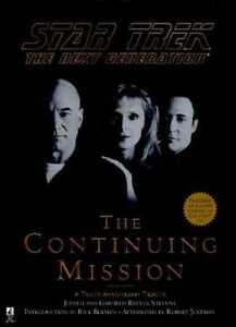 Star Trek, The next Generation, the continuing mission hardcover
