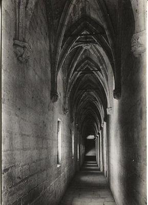 """Alte Postkarte - Avignon - Palais des Papes - Galerie dite """"du Conclave"""""""