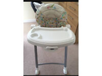 Graco Contempo Highchair with toys (reduced price to £25)