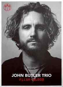 John Butler Trio Flesh & Blood 2014 Silkscreen Tour Poster