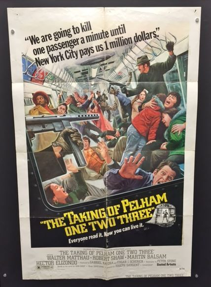 Taking of Pelham One Two Three - Original Movie Poster  -    *Hollywood Posters*