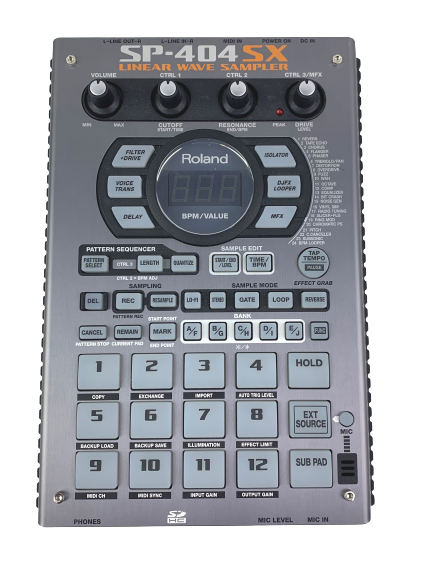Roland SP-404SX Linear Wave Sampler With DSP Effects - $393.30