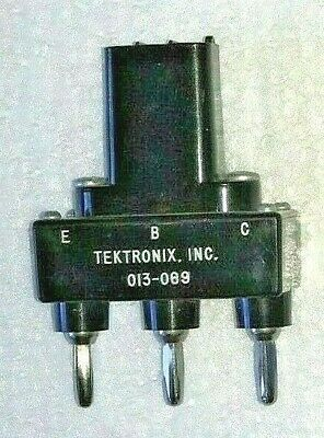 Tektronix Curve Tracer Long Lead Transistor Adapter 013-069 013-0069-00 3-pin