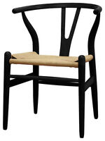 chaise ch24, wishbone chair, y chair, hans j wagner