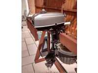 MARINER / MERCURY 2.5 3.3HP 2 STROKE SHORT SHAFT OUTBOARD BOAT ENGINE DINGY TENDER RIB INFLATIBLE