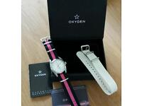 'OXYGEN' Watch with interchangeable straps