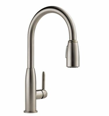 Peerless 1-Handle Pull-Down Kitchen Faucet in Stainless Steel P188103LF-SS