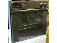 Neff built in integrated electric single fan convection oven and grill