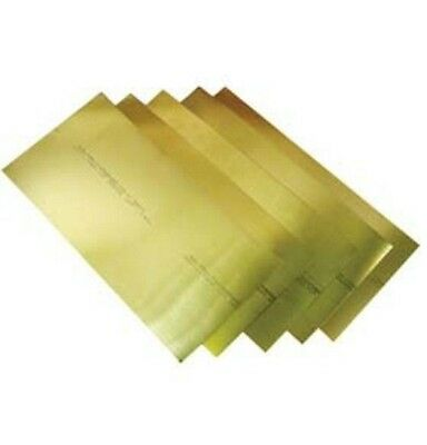 Precision Brand 17915 Brass Shim Flat Sheets 6 X 18 X .031 10 Pcs 4f7-012