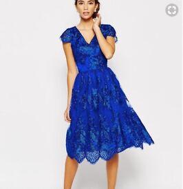 Chi Chi London Blue Dress