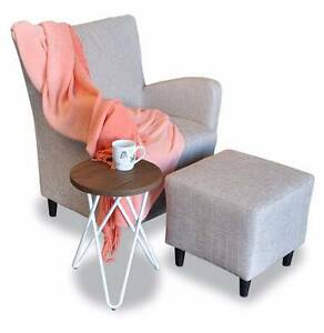 *January SPECIAL * Sand Kenya Armchair + Ottoman for only $273 Osborne Park Stirling Area Preview