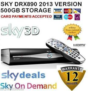 SKY AMSTRAD DRX890 500GB HDD SKY + HD BOX, SKY ON DEMAND