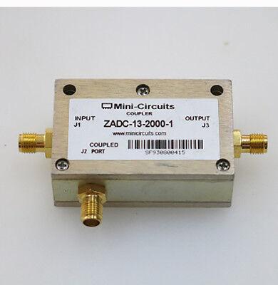 1pc Mini-circuits Zadc-13-2000-1 0.8-2.0ghz Sma Rf Coaxial Directional Coupler
