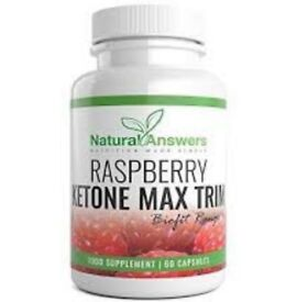 Raspberry Ketones Max for Help With Healthy Weight Loss 60 Capsules