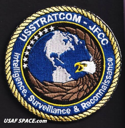 USSTRATCOM -JFCC- INTELLIGENCE, SURVEILLANCE & RECONNAISSANCE - USAF ORIG PATCH