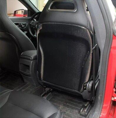 ⭐⭐⭐ 100% Echt Carbon Sitzverkleidung Sitz Cover Mercedes AMG A45 CLA GLA W117 A