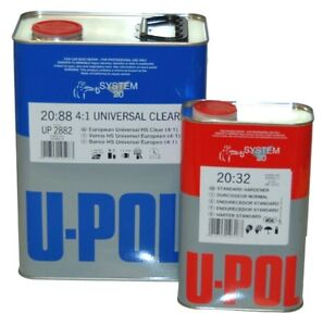 New-U-POL-Overall-Clear-URETHANE-CLEARCOAT-Auto-Paint