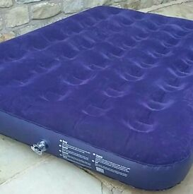 Double camping airbed