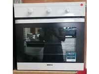 BEKO INTEGRATED OVEN **FREE LOCAL DELIVERY 3 MONTHS GUARANTEE**