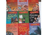 The Danger Zone (History) 10 books set for KS2 primary children book (suit age 7+)