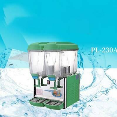 Cold Drink Dispenser 30l Juice Dispenser Machine Double Tanks