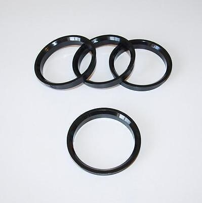 x4 Centre Spigot Rings 64 - 57.1mm Borbet Alloys to fit VW