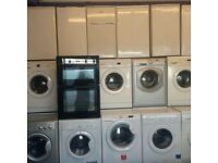 Washing machines fridge freezers electric cookers upto 12 month warranty free delivery