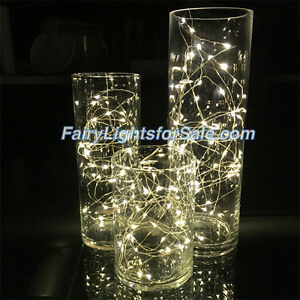 Wire LED string fairy light centerpiece vase submersible wedding Kitchener / Waterloo Kitchener Area image 1