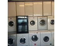 Used washing machines used Fridge freezers used freestanding cookers up to 12 month warranty