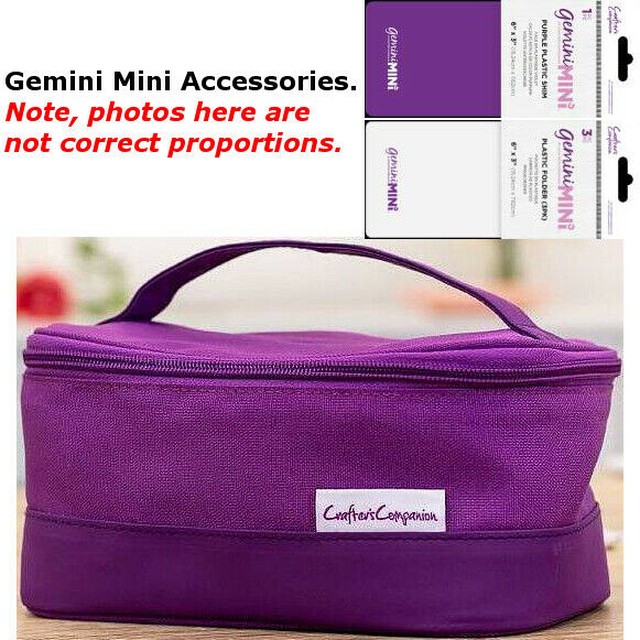 Gemini Mini Machine Accessories - Shims, Folders + Storage Bags - Your Choice