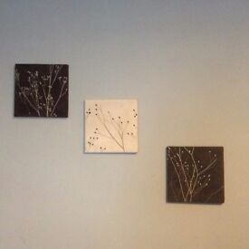 Wall canvas for sale set of 3
