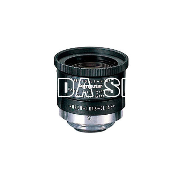 """1PC Computar M8513 8.5mm F1.3 C-Mount 2/3"""" Industrial Camera Manual Lens#SS"""
