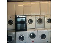 Washing machines fridge freezers electric cookers 12 month warranty free delivery