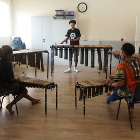 African marimba music classes in Bethnal Green