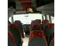 16 seater MINIBUS FOR HIRE