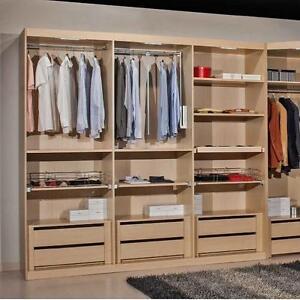 Accessori interni armadio in acero per tutti i tipi di - Ikea accessori interni per armadi ...