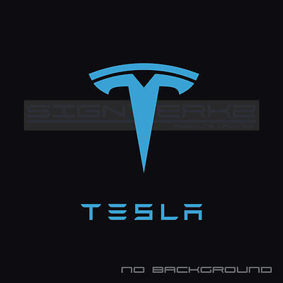 Tesla Sticker Decal Tsla Electric P90d Model X Model S Model 3 Usa Logo Let Pair