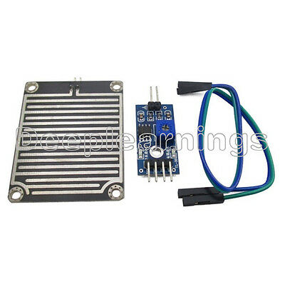 Raindrops Rain Detection Sensor Module Weather Module Humidity For Arduino