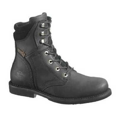 Harley-Davidson® Men's Darnel Black Leather Motorcycle Boots