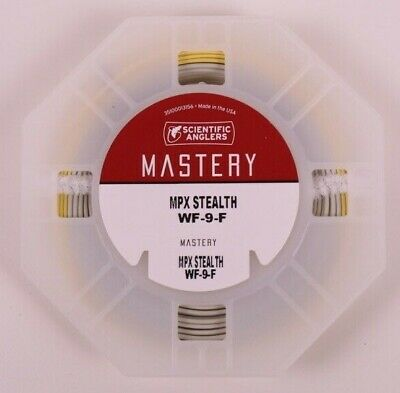 Scientific Anglers Mastery MPX SMU Fly Line WF8F Optic Green ON SALE