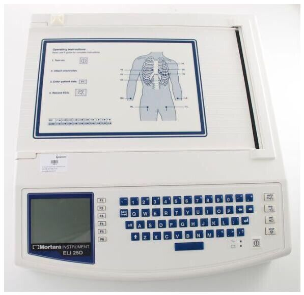 Mortara Eli 250 EKG Machine (Demo model)