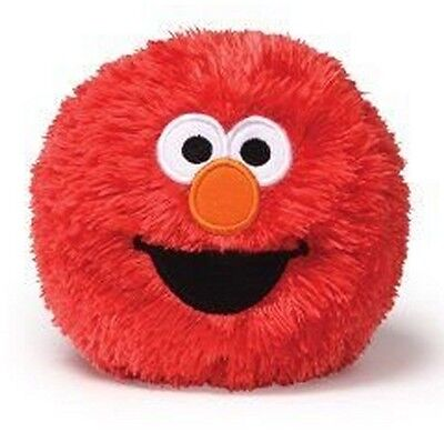 Gund Sesame Street 4'' Plush ELMO Motion Activated GIGGLE BALL ~NEW~