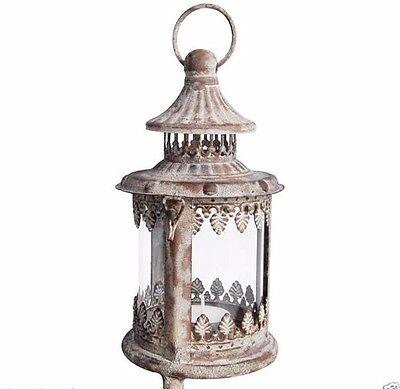 Antik Stil Laterne (****Nostalgische Antik- Eisen Laterne Landhaus Stil zum stellen oder hängen AM25)