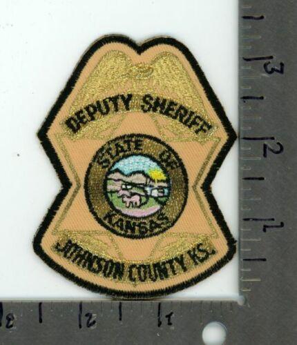 KANSAS KS JOHNSON COUNTY DEPUTY SHERIFF NEW PATCH POLICE STYLE 1