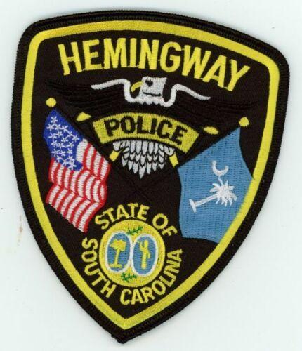 HEMINGWAY POLICE SOUTH CAROLINA SC NICE COLORFUL PATCH SHERIFF