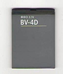 NEW BATTERY FOR NOKIA BV-4D BV4D 808 PUREVIEW LANKKU N9 16G 64G USA SELLER
