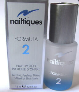 NAILTIQUES FORMULA 2 NEW PACKAGING 15ML  FREE GIFT WITH PURCHASE