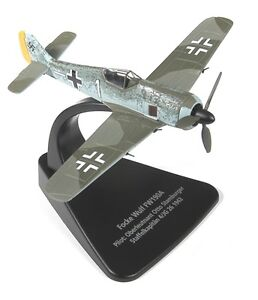 Oxford Diecast 1/72 AC005 Focke Wulf 190 WW2 Luftwaffe Fighter