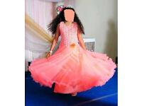Ball gown (Dress : size medium 12-13 yrs)